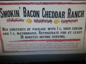 Smokin' Bacon Cheddar Ranch