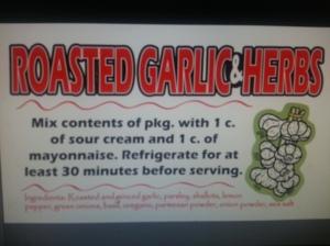 Roasted Garlic & Herbs-Dipsy Daisy